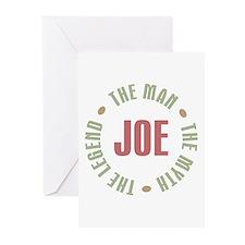 Joe Man Myth Legend Greeting Cards (Pk of 10)