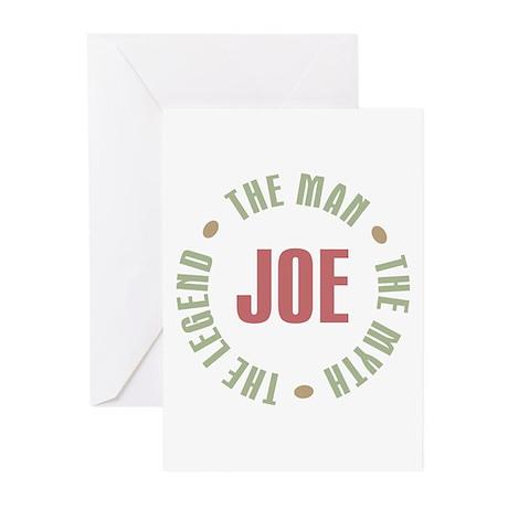 Joe Man Myth Legend Greeting Cards (Pk of 20)