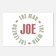 Joe Man Myth Legend Postcards (Package of 8)