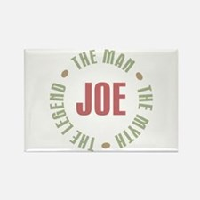 Joe Man Myth Legend Rectangle Magnet
