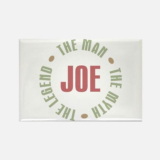 Joe Man Myth Legend Rectangle Magnet