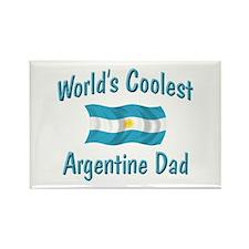 Coolest Argentine Dad Rectangle Magnet