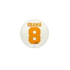 Obama 8 Mini Button (10 pack)