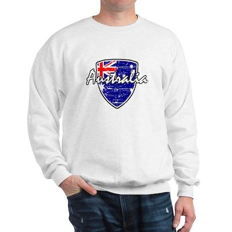 Australian Distressed Flag Sweatshirt