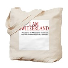 I am Switzerland #2 Tote Bag