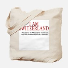 I am Switzerland #2 Tote Bag