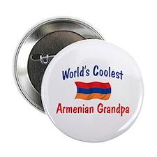 "Coolest Armenian Grandpa 2.25"" Button"