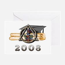 Dental Grad 2008 Greeting Card