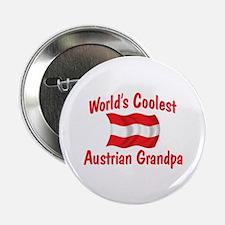 "Coolest Austrian Grandpa 2.25"" Button"