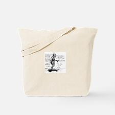 Chupacabra Drawing Tote Bag