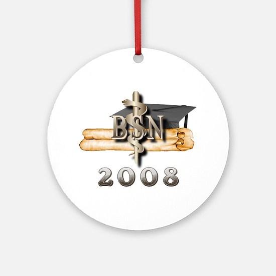 BSN Grad 2008 Ornament (Round)