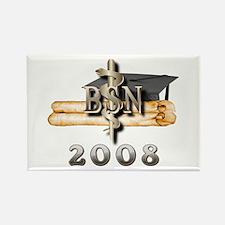 BSN Grad 2008 Rectangle Magnet (10 pack)