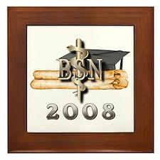 BSN Grad 2008 Framed Tile