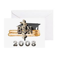BSN Grad 2008 Greeting Card