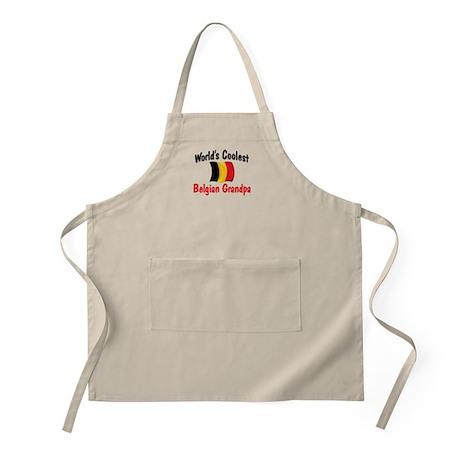Coolest Belgian Grandpa BBQ Apron