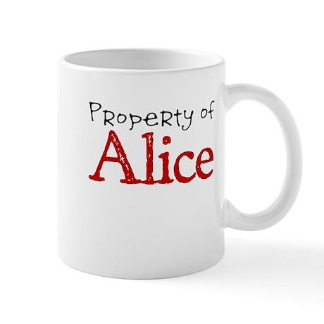 Property of Alice Mug