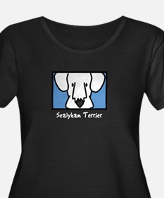 Anime Sealyham Terrier Women's Plus Dark Scoop Tee