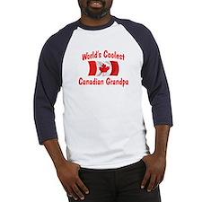 Coolest Canadian Grandpa Baseball Jersey
