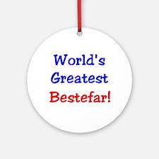 World's Greatest Bestefar Keepsake (Round)