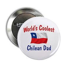 "Coolest Chilean Dad 2.25"" Button"