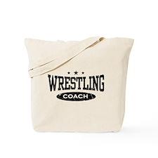 Wrestling Coach Tote Bag