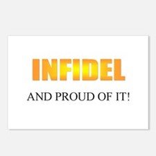Infidel Postcards (Package of 8)
