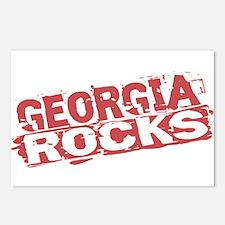 Georgia Rocks Postcards (Package of 8)