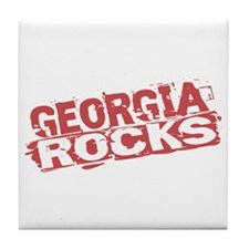 Georgia Rocks Tile Coaster
