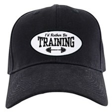 I'd Rather Be Training Baseball Hat