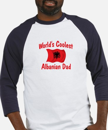 Coolest Albanian Dad Baseball Jersey