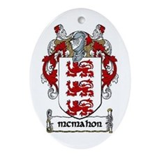McMahon Coat of Arms Keepsake Ornament