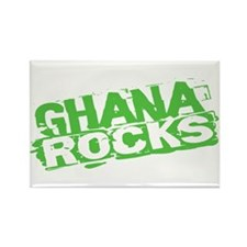 Ghana Rocks Rectangle Magnet