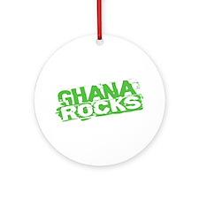 Ghana Rocks Ornament (Round)