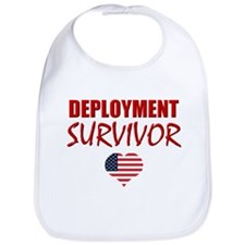 Deployment Survivor Bib