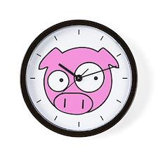 Rally Pig Wall Clock