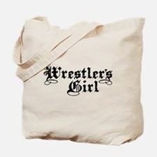 Wrestler's Girl Tote Bag