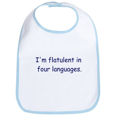 Flatulent in Four Languages Bib