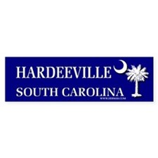 Hardeeville South Carolina Bumper Bumper Sticker