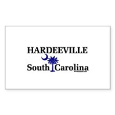 Hardeeville South Carolina Rectangle Decal