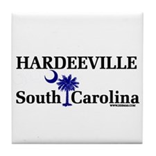 Hardeeville South Carolina Tile Coaster