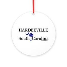 Hardeeville South Carolina Ornament (Round)