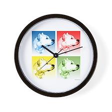 Dogo Pop Wall Clock