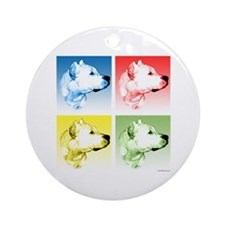 Dogo Pop Ornament (Round)