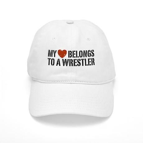 My Heart Belongs to a Wrestler Cap