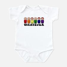 Gay Pride Whatever Infant Bodysuit