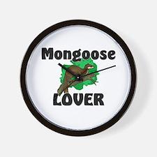 Mongoose Lover Wall Clock