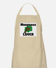 Mongoose Lover BBQ Apron