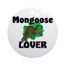 Mongoose Lover Ornament (Round)