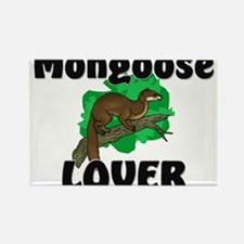 Mongoose Lover Rectangle Magnet