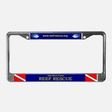 Reef Rescue License Plate Frame